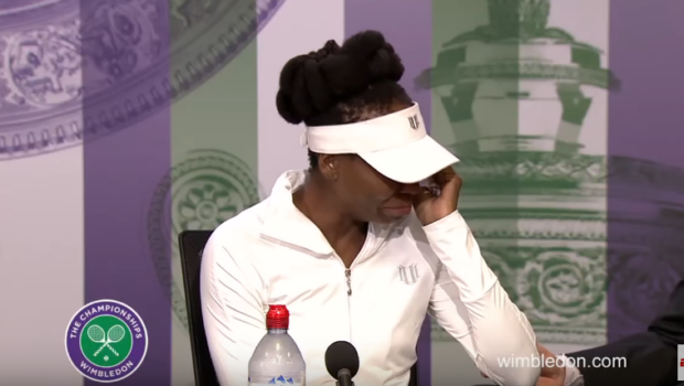 Venus Williams Cries When Asked About Fatal Car Accident [VIDEO]