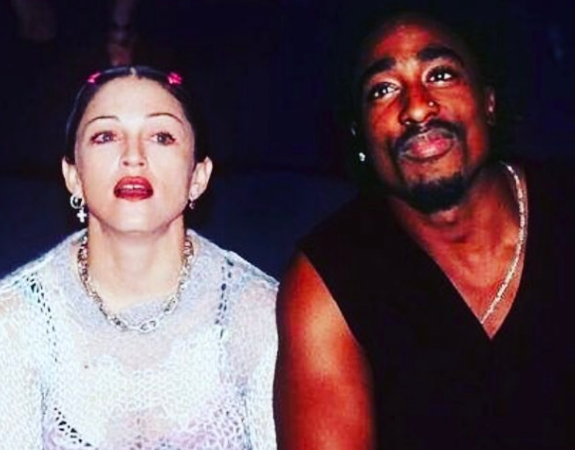 Tupac To Madonna: Being with a white woman may jeopardize my career.