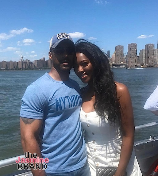 Lauren London Sparks Engagement Rumors, Kenya Moore Hubby Hit NYC, Blac Chyna Spills The Tea To 'GMA' + Claudia Jordan, Ashanti [Photos]