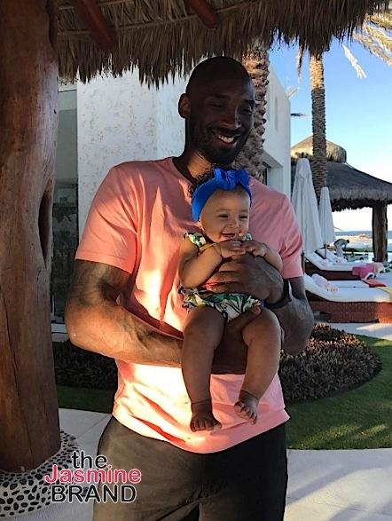 Kobe Bryant Dishes On Having 3 Daughters: Guys tease me for not having boys.