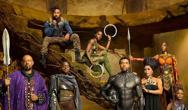 "See the ""Black Panther"" Shoot! Chadwick Boseman, Lupita Nyong'o, Michael B. Jordan, Danai Gurira, Angela Bassett [Photos]"