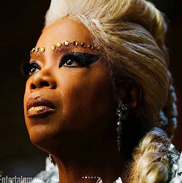 """1st Look: Ava DuVernay's """"A Wrinkle In Time"""": Reese Witherspoon, Oprah, Mindy Kaling, Storm Reid"""
