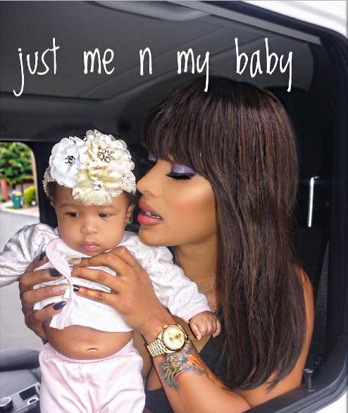 Joseline Tells Infant Daughter: I'm sorry one day you may be exposed to my mistakes.