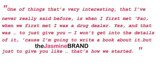 Jada Pinkett-Smith Reveals: When I First Met Tupac, I Was A Drug Dealer.