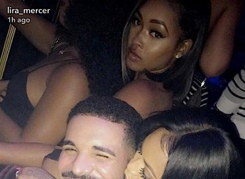 Drake Gifts Lira Galore Louis Vuitton, Kim Kardashian & Teyana Taylor Party at Balmain + Erykah Badu & BF Booed-Up [Photos]