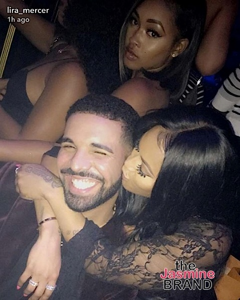 Drake Gifts Lira Galore Louis Vuitton, Kim Kardashian & Teyana Taylor Party at Balmain + Erykah Badu & BF Booed-Up [Photos]