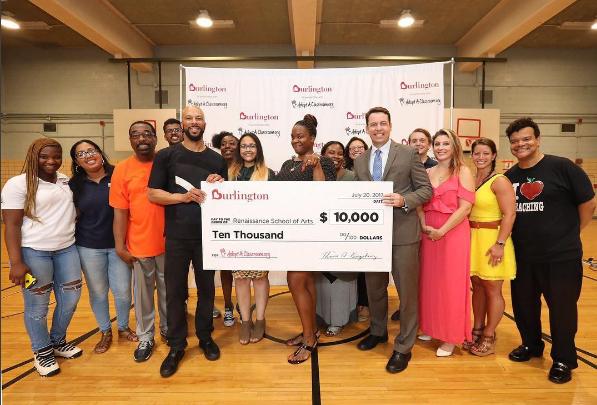 Common Donates Money To Help Teachers Buy School Supplies