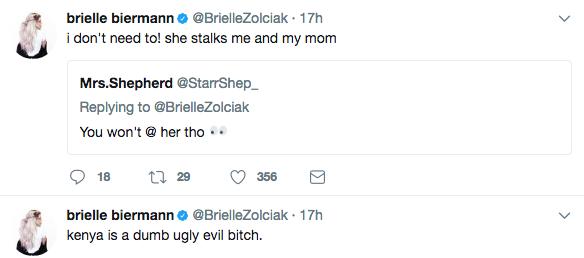 Kim Zolciak's Daughter Calls Kenya Moore A Dumb, Ugly B*tch