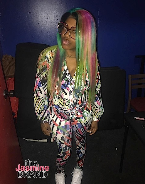 Lil Mo Goes Rainbow, Kylie Jenner's Serving Boobage, Tami Roman Links Up w/ Keyshia Cole + Frank Ocean, Erykah Badu, Wale