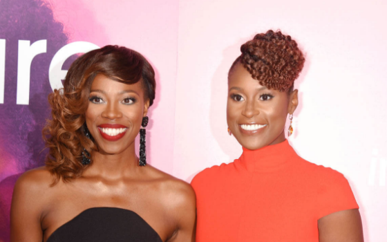 "Issa Rae Says ""Insecure"" Character Molly Is Inspired By Her Real Friend: She always calls me to the carpet when I'm f*cking up."