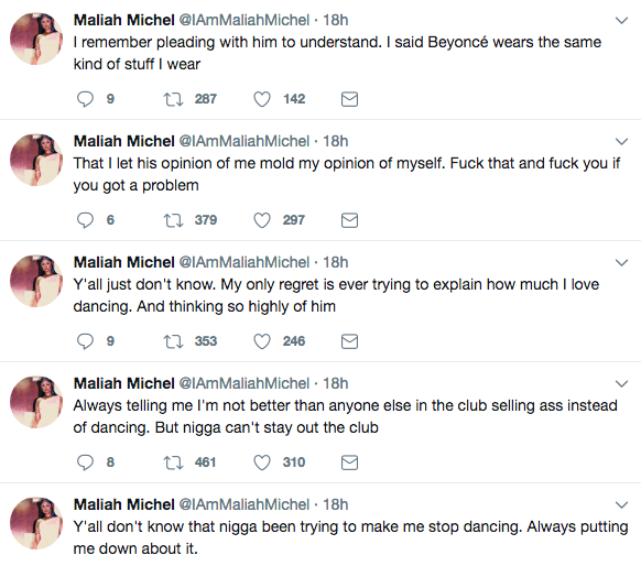 Maliah Michel Says Drake Put Her Down For Being A Stripper: He told me not to compare myself to Beyonce!