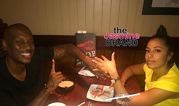 Tyrese & His Wife Relive 1st Date At Red Lobster [Photos]