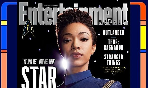 "Sonequa Martin-Green Transforms For ""Star Trek: Discovery"" [Photos]"