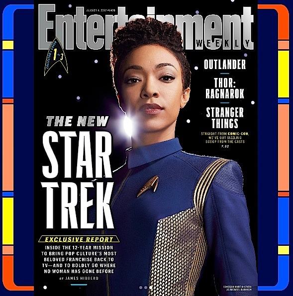 "Sonequa Martin-Green Transforms For ""Star Trek: Discovery"" [Photos]"
