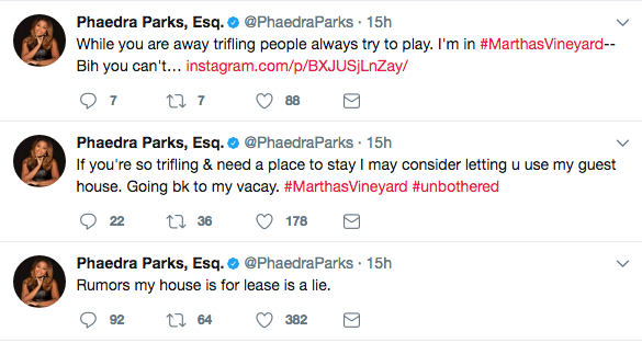 Phaedra Parks Denies Trying To Rent Her $1.91 Million Mansion