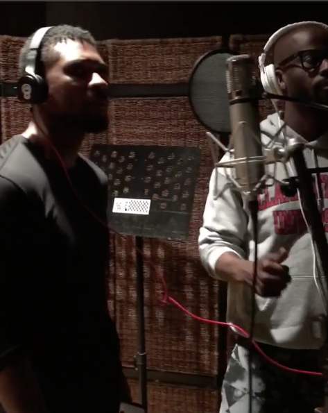 Usher Hits Studio Amidst STD Controversy