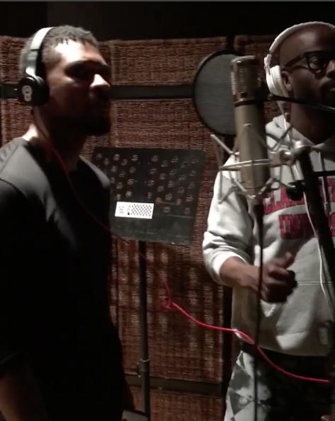 Usher Hits Studio Amidst STD Controversy