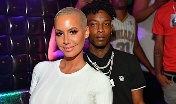 Amber Rose Confirms Break-Up w 21 Savage : We Barely Speak & I Still Sniff His Underwear