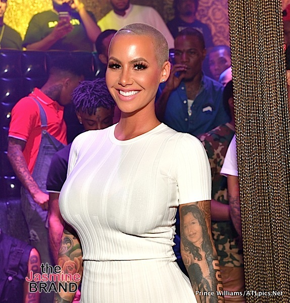 Amber Rose Denies Cheating On Any Of Her Exes, Insists She Didn't Call Women From Philly Ugly