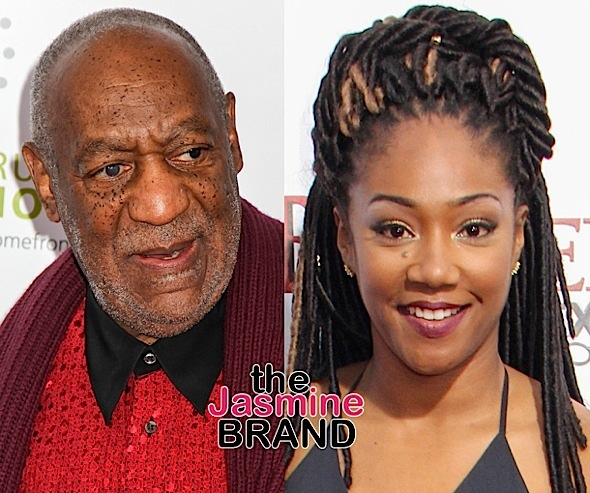 Tiffany Haddish Reacts to Backlash Over Bill Cosby Joke: I don't agree w/ what he did.