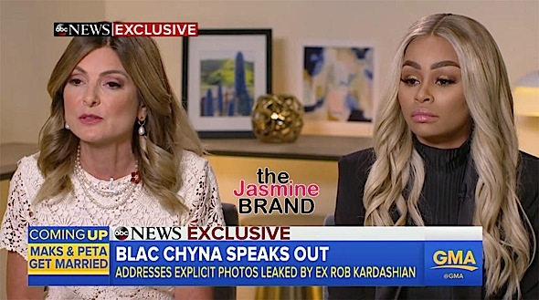 Blac Chyna Denies Using Rob Kardashian For Fame: I was famous before meeting the Kardashians.