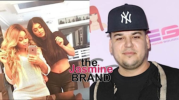 Blac Chyna Lived w/ Kylie Jenner & Rob Kardashian: I left after a week. I wasn't going to be disrespected.
