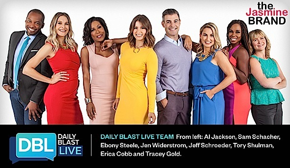 Ebony Steele Lands 'Daily Blast Live' Panel Talk Show
