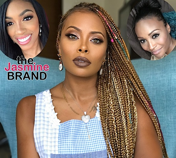 Eva Marcille May Join 'Real Housewives of Atlanta', Potentially Replace Porsha Williams Or Cynthia Bailey