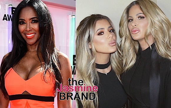 Ouch! Kim Zolciak's Daughter Calls Kenya Moore A Dumb, Ugly B*tch