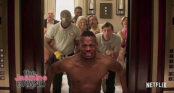 """Naked"" Trailer Starring Marlon Wayans, Regina Hall, Jonathan Todd Jackson, Scott Foley, Loretta Devine"