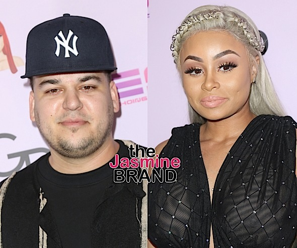Source Says Blac Chyna Tried To Choke Rob Kardashian w/ Cord + Chyna Granted Restraining Order