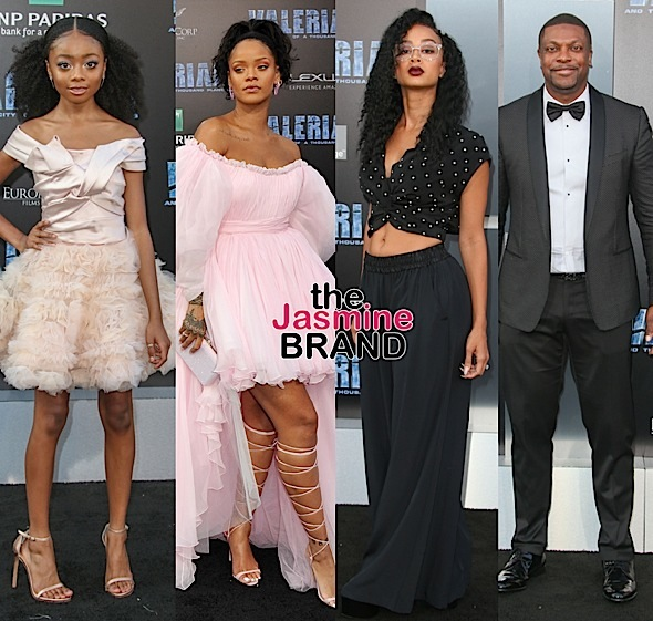 """Valerian and the City of a Thousand Planets"" Premiere: Skai Jackson, Rihanna, Draya Michele, Chris Tucker Attend"