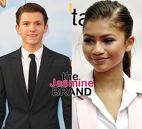 Zendaya Dating 'Spiderman' Co-Star Tom Holland?