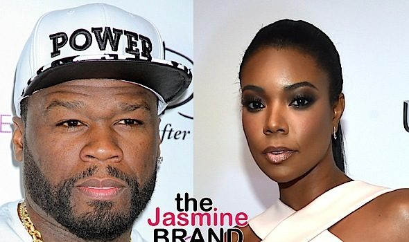 Gabrielle Union Denies Competing w/ 50 Cent: I don't compete, I celebrate.