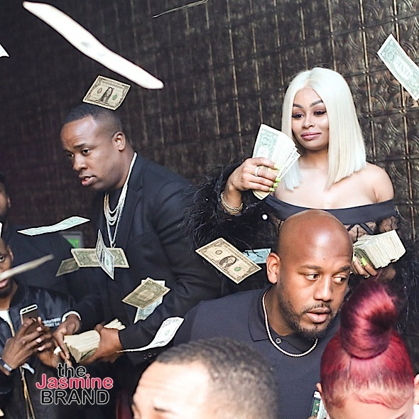 "Blac Chyna & Yo Gotti Throw Cash At ""AODMondays"" [Photos]"