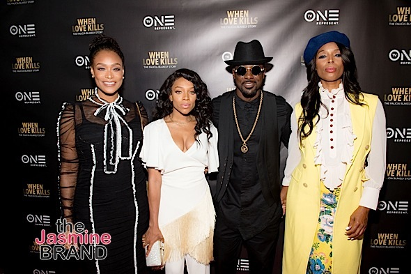 Lance Gross, Lil Mama, Tami Roman, Tasha Smith Attend 'When Love Kills' Premiere + Demetria McKinney, Trina Braxton, Syleena Johnson