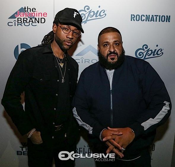 "DJ Khaled Celebrates ""Another One"" with PARTYNEXTDoor, Affion Crockett, Yo Gotti, Nipsey Hussle, Randy Jackson"