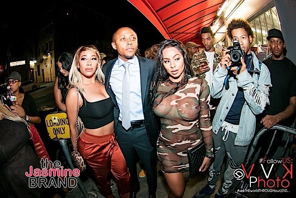 Hazel-E, Althea Heart, Alexis Skyy Party At Diamond District [Celebrity Stalking]