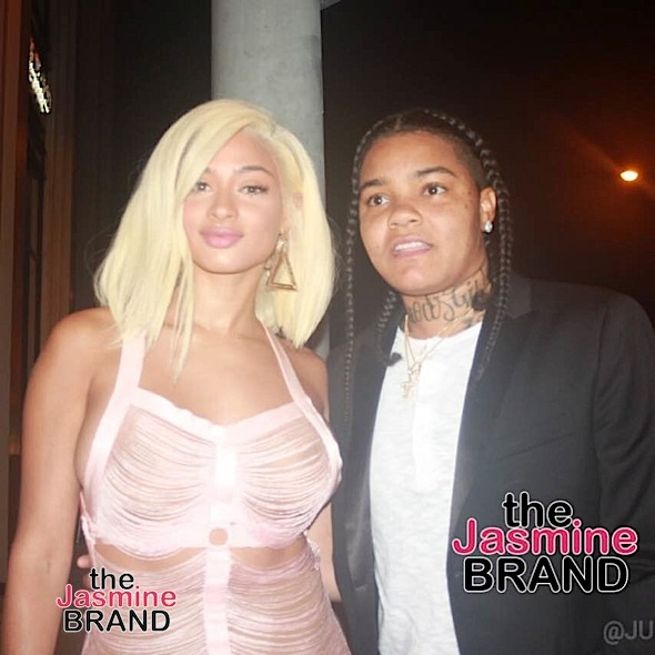 Young MA & Tori Brixx Have WeHo Date Night + Kandi Burruss Transforms Into Barbie!