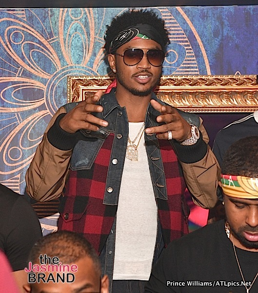 Trey Songz & T.I. Party in ATL [Photos]