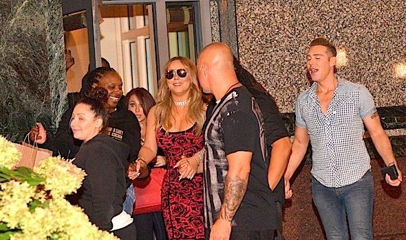 Mariah Carey Dines w/ Da Brat & Boyfriend At Atl Restaurant [Photos]