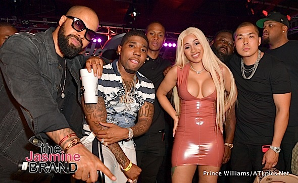 Nas, Cardi B, Swizz Beatz, YFN Lucci, Mayweather Party in Las Vegas [Spotted. Stalked. Scene.]