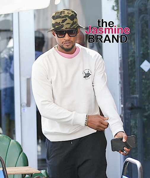 Usher Makes Public Appearance Amidst STD Scandal [Spotted. Stalked. Scene.]
