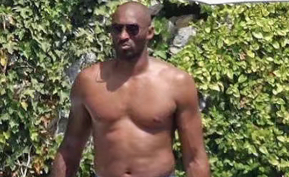 #MambaThick! Kobe Bryant Reveals His 'Dad Bod', Promises To Lose Weight [Photos]