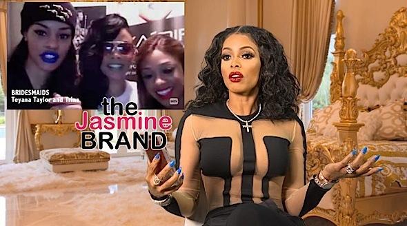 Teyana Taylor & Trina Are Bridesmaids In Gucci Mane & Keyshia Ka'oir's Wedding + See Reality Show Teaser