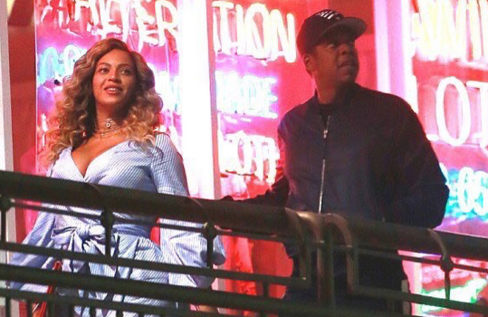 Beyonce & Jay-Z's Sushi Date Night! [Photos]