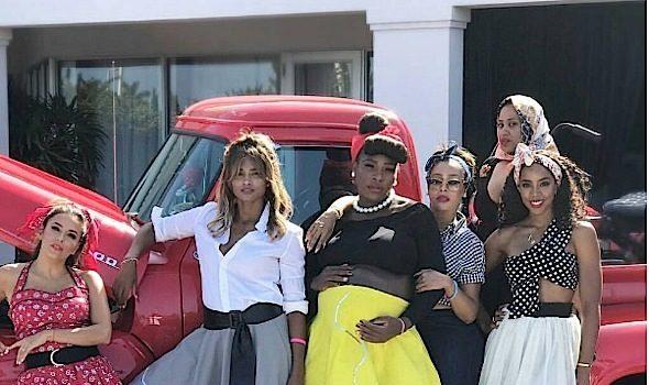 See Serena Williams' 50's Theme Baby Shower: Lala, Kelly Rowland, Ciara, Eva Longoria Attend
