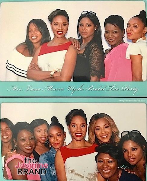 See MC Lyte's Bridal Tea Party + Jada Pinkett-Smith, Toni Braxton, Lil Mama Attend