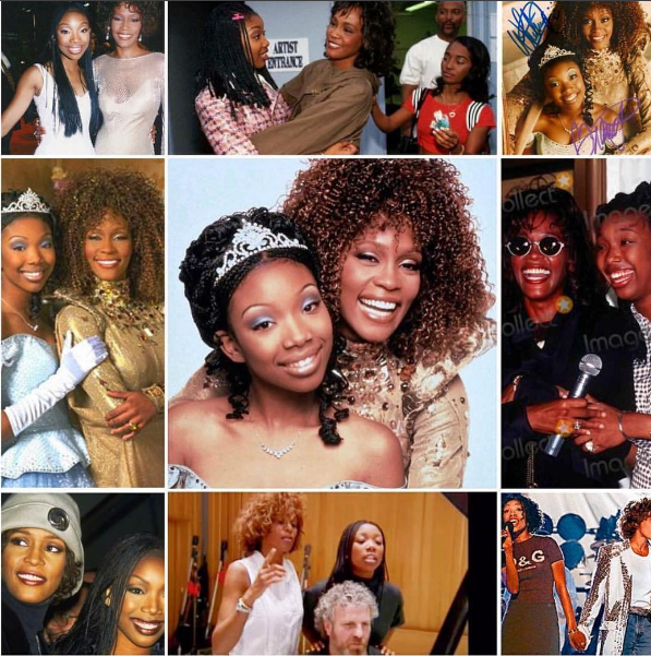 (EXCLUSIVE) Brandy Defends Whitney Houston Birthday Message: She passed the torch when she passed on my birthday.