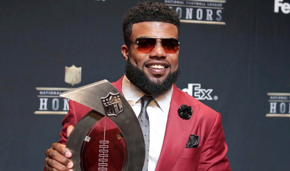 Ezekiel Elliott Speaks Out After Suspension Over Domestic Violence Claims Against Girlfriend: She's lying!